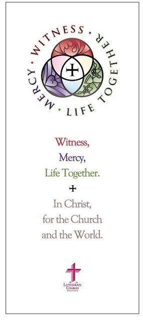 Martyría, Diakonía, Koinōnía — Witness, Mercy, LifeTogether