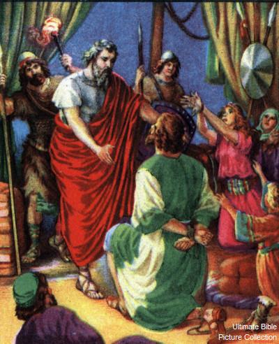 Abraham Rescues Lot
