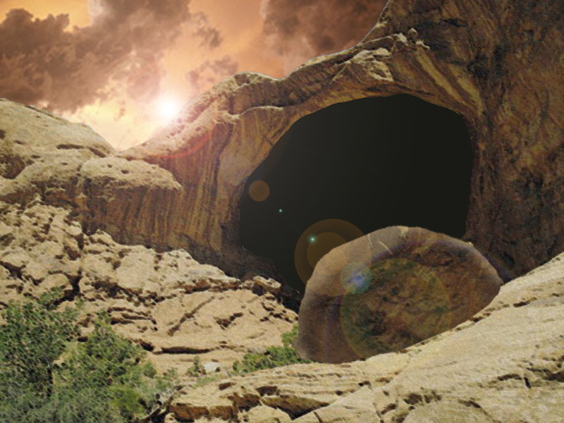christian easter empty tomb - photo #3
